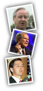 Jerry Falwell, Pat Robertson, and Ralph Reed