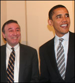 Ralph G. Neas and Barack Obama