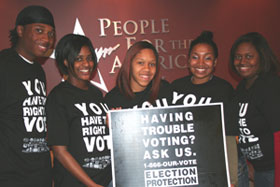 Election Protection volunteers