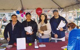 EP volunteers