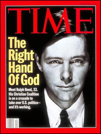 Ralph Reed on cover of Time Magazine